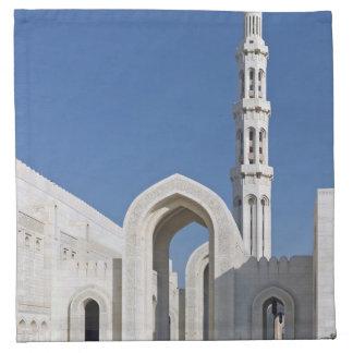 Sultanato magnífico Omán de Muscat de la mezquita  Servilleta De Papel