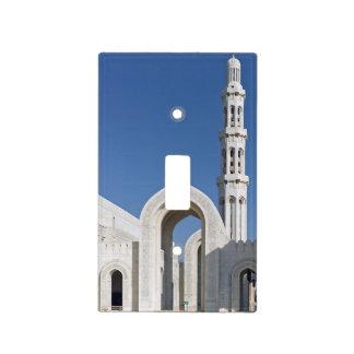 Sultanato magnífico Omán de Muscat de la mezquita  Placas Para Interruptor