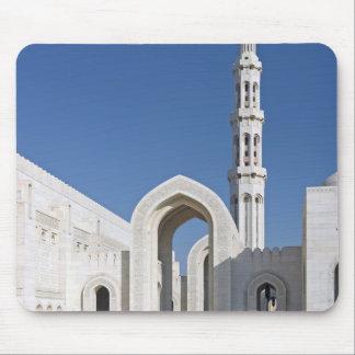 Sultanato magnífico Omán de Muscat de la mezquita  Tapetes De Raton