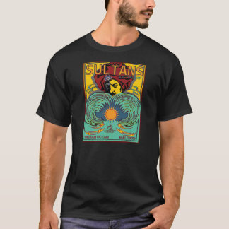 Sultans of Surf Maldives Indian Ocean T-Shirt