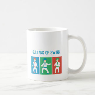 Sultans of swing classic white coffee mug