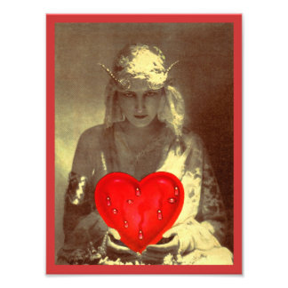 Sultry Gypsy Fortune Teller Photo Art