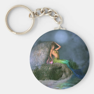 Sultry Mermaid Keychain