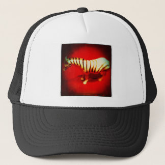 Sultry Zebra Trucker Hat