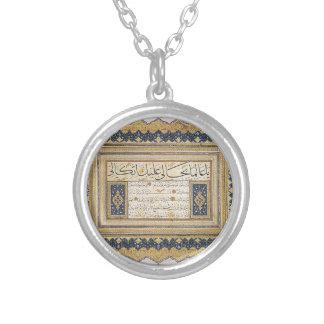 Sulus Nesih Kit'aHafiz Osman de Hafiz Osman Colgante Redondo