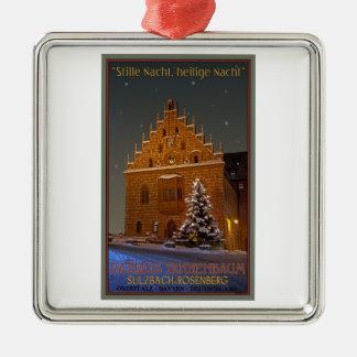 Sulzbach Rathaus Christmas Metal Ornament
