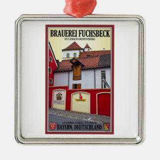 Sulzbach-Rosenberg - Brauerei Fuchsbeck Metal Ornament