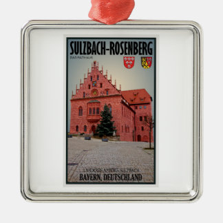 Sulzbach-Rosenberg - Rathaus Metal Ornament