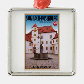Sulzbach-Rosenberg - Sulzbach Castle Metal Ornament