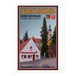Sulzbach-Rosenberg - Toll House Postcard