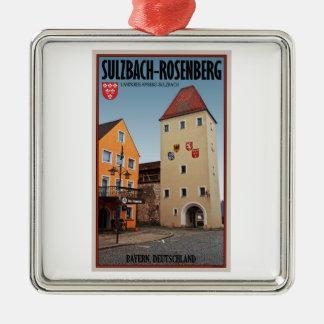 Sulzbach-Rosenberg - Tower and Gate Metal Ornament