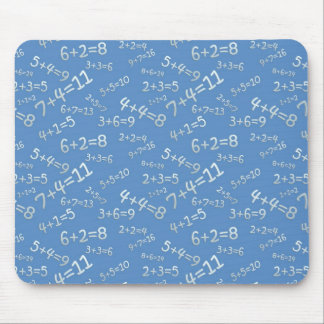 Sum in the slate - blue Model Mousepad