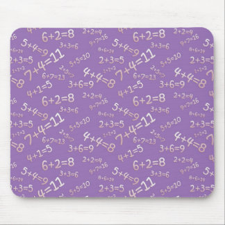 Sum in the slate - mulberry Model Mousepad