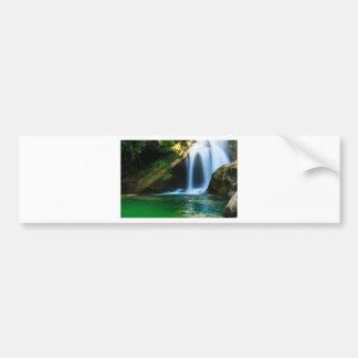 Sum Waterfall in Vintgar Gorge, near Bled, Sloveni Bumper Sticker