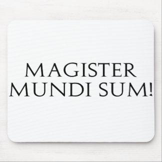¡Suma de Magister Mundi Mousepad Tapete De Ratón