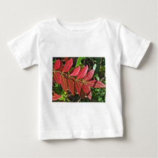 Sumac Leaves In Autumn Baby T-Shirt