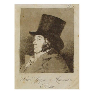 Sumario Description Capricho n? 1: Francisco Goya  Postcard