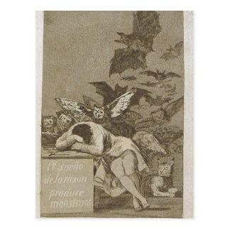 Sumario Description Capricho n? 43: El sue?o de la Postcard