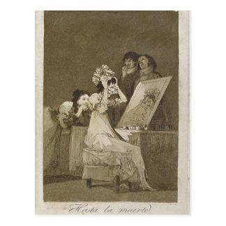 Sumario Description Capricho n? 55: Hasta la muert Postcard