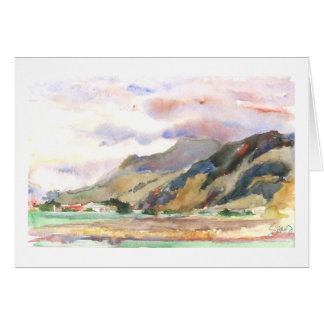 Sumas Valley farmland Card