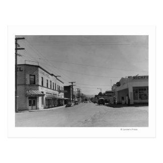 Sumas, WA - vista de la fotografía céntrica de la Tarjetas Postales