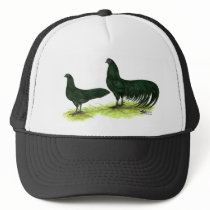 Sumatra Black Chickens Trucker Hat