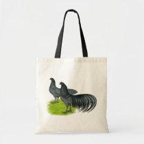 Sumatra:  Blue Pair Tote Bag