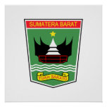 Sumatra del oeste, Indonesia Poster