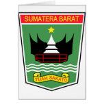 Sumatra del oeste, Indonesia Tarjetón