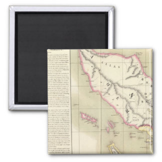 Sumatra Oceania no 11 Fridge Magnet