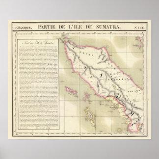 Sumatra Oceania no 11 Poster