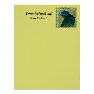 Sumatra Rooster Framed Custom Letterhead