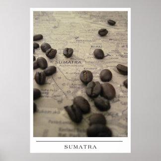 Sumatra - Send Coffee Art Poster