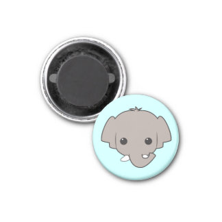 Sumatran Elephant Magnet