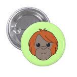 Sumatran Orangutan Button