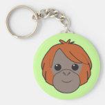 Sumatran Orangutan Keychain