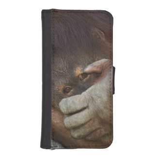 Sumatran Orangutan, Pongo pygmaeus iPhone SE/5/5s Wallet Case