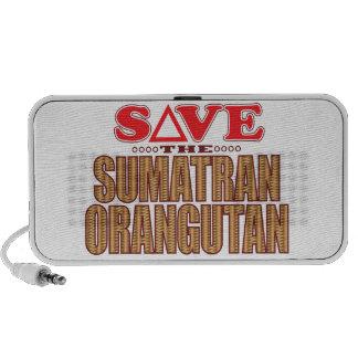 Sumatran Orangutan Save Mini Speaker