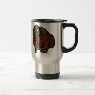 Sumatran Orangutan Travel Mug