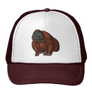 Sumatran Orangutan Trucker Hat
