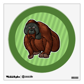 Sumatran Orangutan Wall Decal