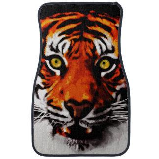 Sumatran Tiger Art Realistic Digital Painting Car Mat