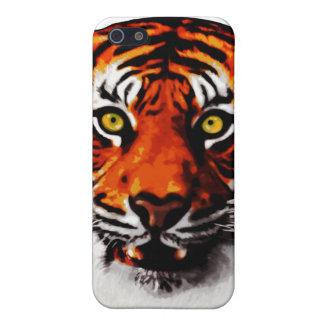 Sumatran Tiger Art Realistic Digital Painting Case For iPhone SE/5/5s