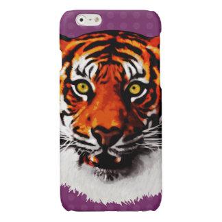 Sumatran Tiger Art Realistic Digital Painting Glossy iPhone 6 Case