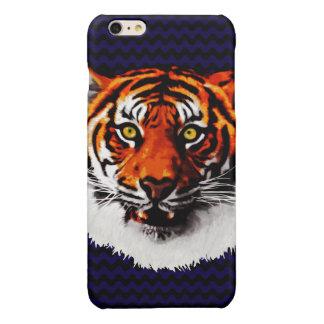 Sumatran Tiger Art Realistic Digital Painting Glossy iPhone 6 Plus Case