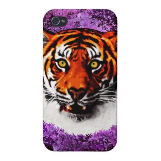 Sumatran Tiger Art Realistic Digital Painting iPhone 4 Case