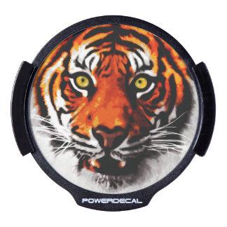 Sumatran Tiger Art Realistic Digital Painting LED Window Decal