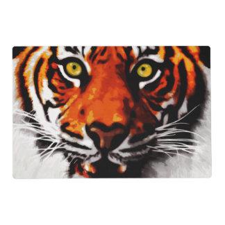 Sumatran Tiger Art Realistic Digital Painting Placemat