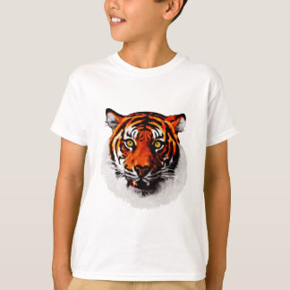 Sumatran Tiger Art Realistic Digital Painting T-Shirt