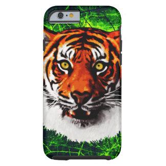 Sumatran Tiger Art Realistic Digital Painting Tough iPhone 6 Case